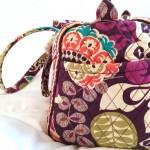 茶色の旅行バッグよサヨウナラ~ヴェラ・ブラッドリーのボストンバッグ