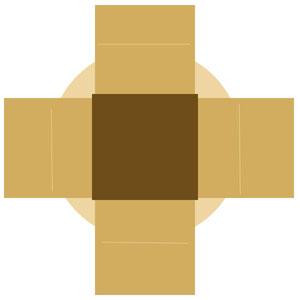 こたつ布団のイメージ図