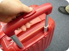 ニッセンのキャリーバッグで長さを1つ伸ばしたところ