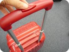 ニッセンのキャリーバッグニッセンのキャリーバッグで長さを3つ伸ばしたところ