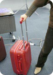 ニッセンのキャリーバッグのハンドルの長さ