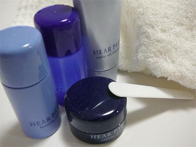ナリス初の通販化粧品「HEAR PALM(ヒアパーム)」の参考画像