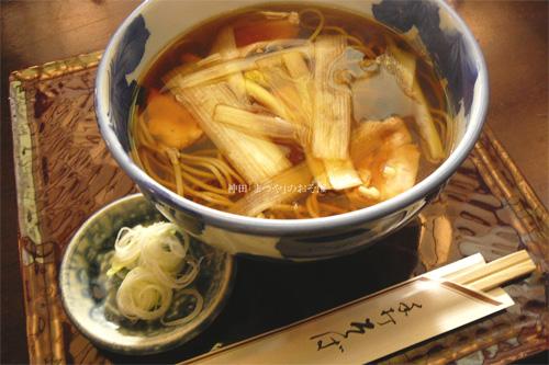 神田「まつや」本店でお蕎麦を食べてきましたの参考画像
