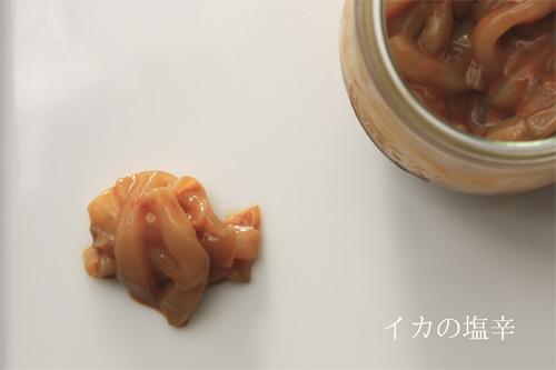 自家製イカの塩辛。おかみさんレシピのおかげでちゃんと作れた!の一枚目の画像