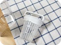 無印良品の横置きできる冷水筒(ポット)