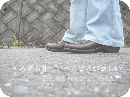 ベネビスの新作*欲しい靴は3Eワイズのパンプス♪の一枚目の画像
