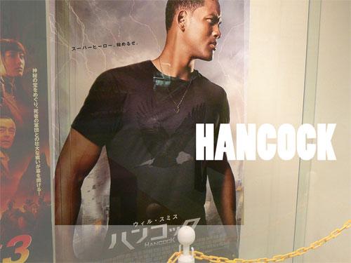 hancock(ハンコック)のポスターの写真
