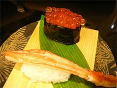 にぎりや海宝(かいほう)新宮店の海鮮三種盛り