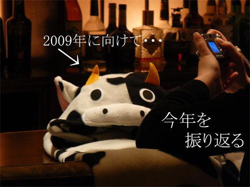 セシールの牛の着ぐるみ