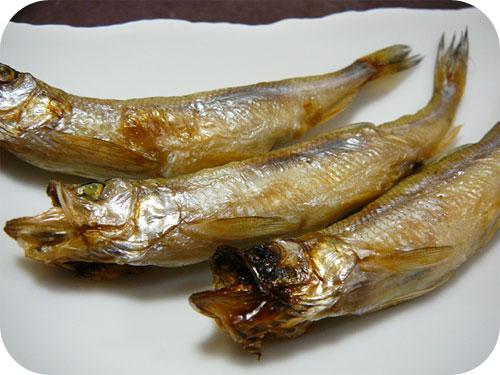 北海道・阿部水産のししゃも(柳葉魚)のオス