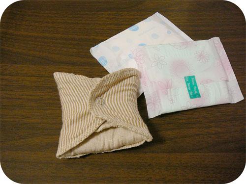 布ナプキンの使い心地-私は三つ折が好き-の一枚目の画像