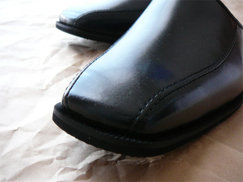 イーグリーンの紳士靴風ビジネススリッパ