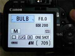 花火撮影用のデジタル一眼レフカメラの設定