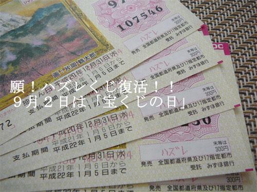 「宝くじの日」の当選番号を確認しましたか?の参考画像