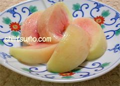 桃のむき方