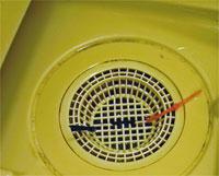排水口・排水管の掃除と重曹