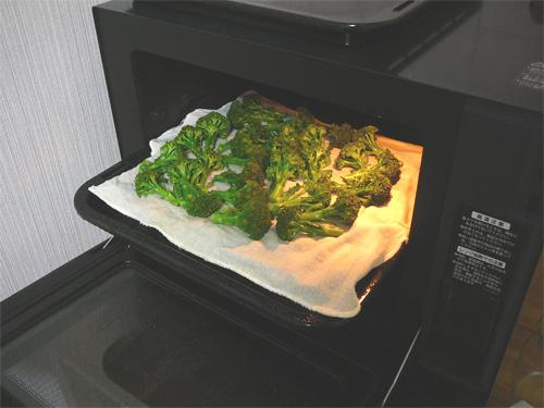 シャープのヘルシオAX-X1と蒸し野菜