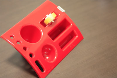 MAS(マス)のTIDYデスクオーガナイザーのテープカッター部分