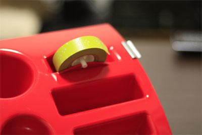 MAS(マス)のTIDYデスクオーガナイザーとマスキングテープ
