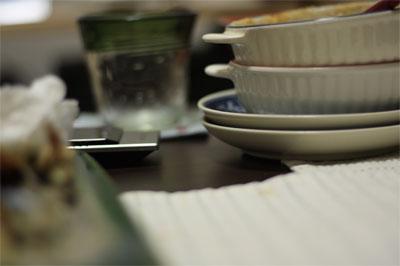 デジイチ撮影したテーブル