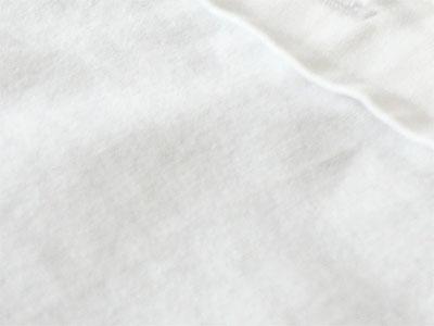 多目的洗剤「キレイの匠」でトマトソースのシミ汚れがキレイになったシャツ