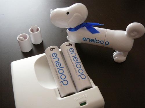 eneloopy(エネルーピー)でエネループの充電池の残量チェックの参考画像