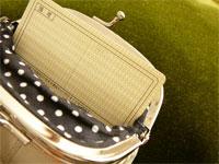 がまぐち財布のカード収納