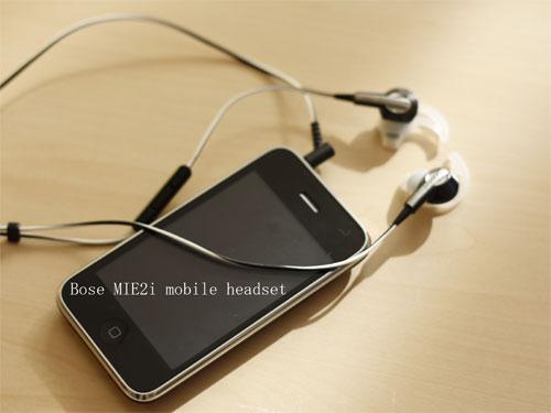 Bose MIE2i mobile headset*自然に身体が踊り出すの参考画像