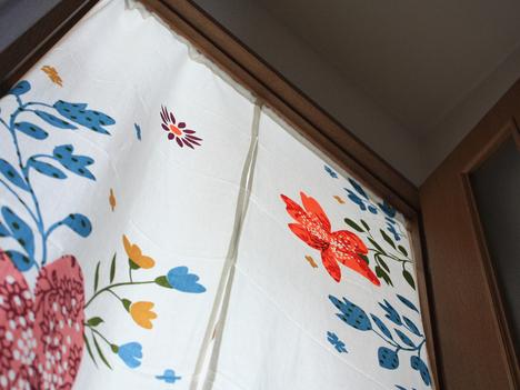 minilabo(ミニラボ)の雑貨が入ったベルメゾンネットの福袋に入っていた暖簾
