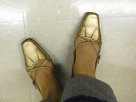 べネビスのスリッポン2足の比較写真