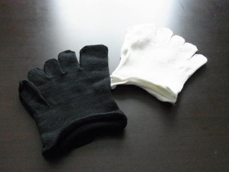 絹のつま先五本指靴下で靴の中の蒸れ防止♪の参考画像