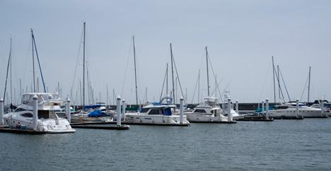 YAMAHA シースタイルのレンタルボート乗船
