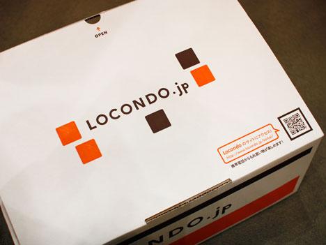 ロコンド.jpの靴の箱