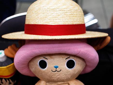 田中帽子店のルフィの麦わら
