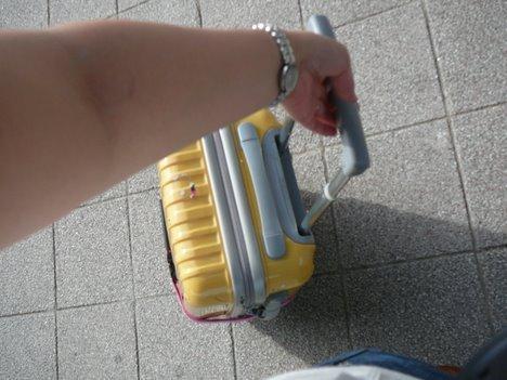 海外旅行用スーツケースは今回もニッセンの一枚目の画像