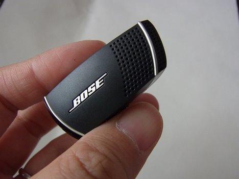 Bose Bluetooth headsetを使った感想を発着信両側からの一枚目の画像