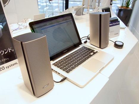 PC用スピーカーBOSE「companion20」は部屋ごと音で満たしてくれるの一枚目の画像