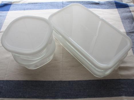 ベルメゾンネットで購入したiwakiの耐熱ガラス保存容器パック&レンジシステム