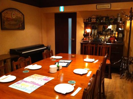 cafe&dining ブライトンベル 御堂筋店の店内 個室側の写真