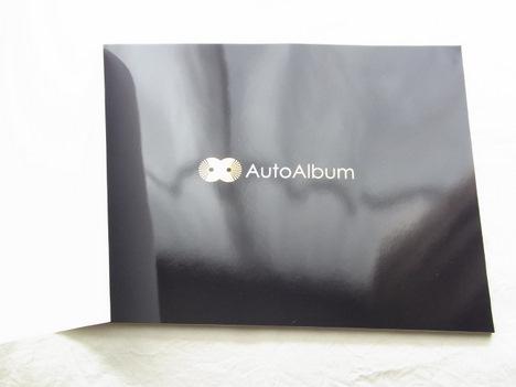 オートアルバムのフォトブックの内表紙