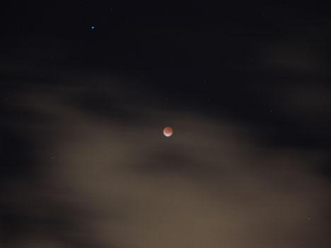 月食 ちゃんと見たのは初めてかもしれないの一枚目の画像