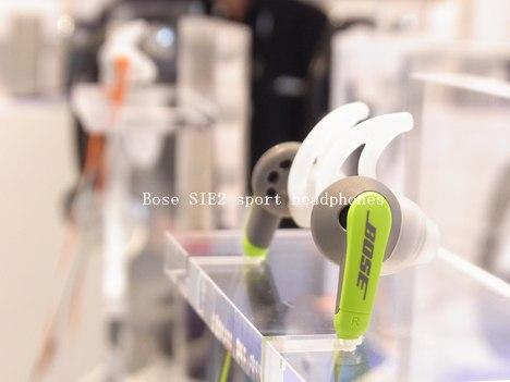 スポーツ仕様のヘッドホン「Bose SIE2 sport headphones」は色とケーブルの長さがいいの一枚目の画像
