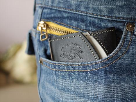 """栃木レザーの小さい革財布@クアトロガッツ""""ペケーニョ""""の感想の一枚目の画像"""
