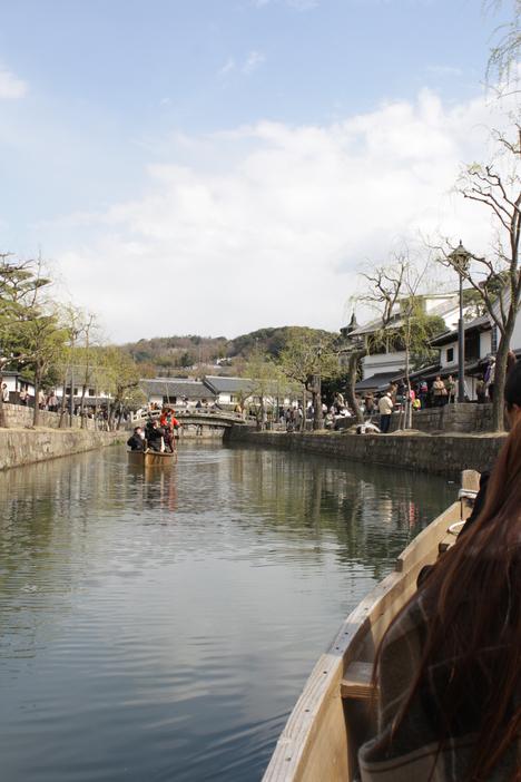 倉敷 美観地区の川舟