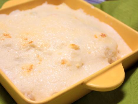 山芋と絹豆腐のヘルシーホワイトソース@クイーン・アリスの永久保存レシピの参考画像