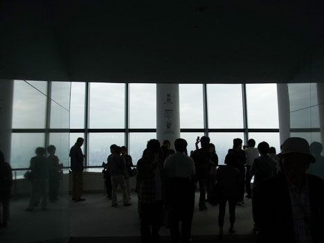 東京スカイツリー内 第一展望台からの眺め