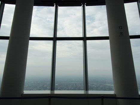 東京スカイツリー内 ソラカラポイントからの眺め