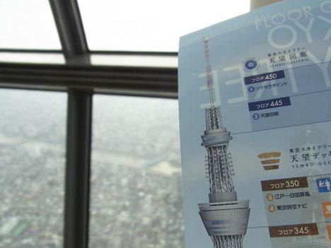 東京スカイツリーに上って、楽しんだポイント(写真撮影、みどころ)の一枚目の画像