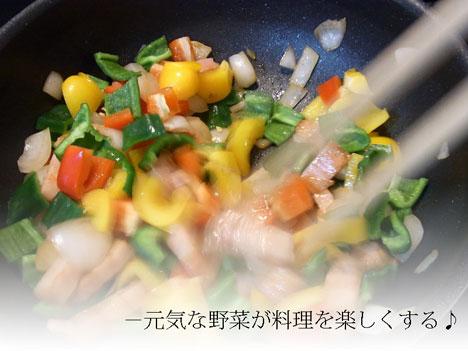 やお九州の野菜お取り寄せセットを元気に料理した感想の参考画像
