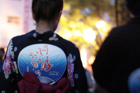 阿波おどり2012へ徳島日帰り旅行(1)-無料演舞場の感想の一枚目の画像